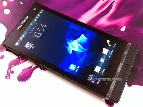 Sony Ericsson Xperia Arc HD - przeciek