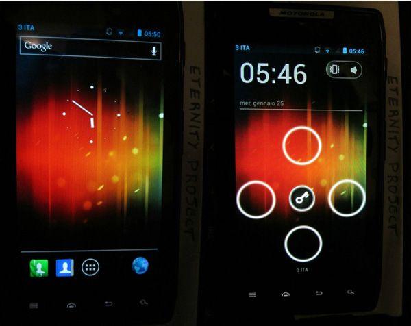 Motorola RAZR - ICS