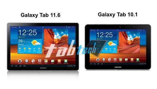 Samsung galaxy tab 11.6