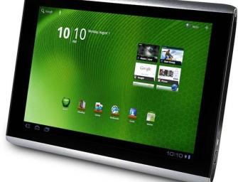 Wyciekł oficjalny Ice Cream Sandwich dla Acer Iconia Tab A500