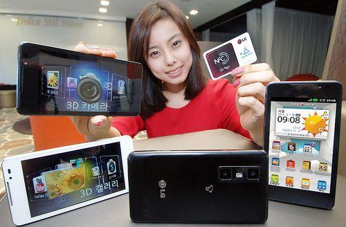 LG Optimus 3D Cube