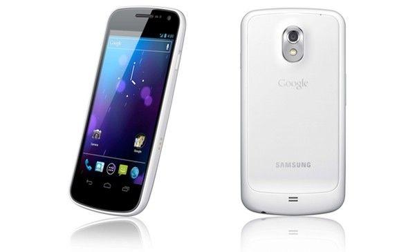 Samsung Galaxy Nexus - white
