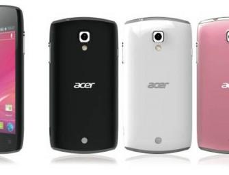 Acer Liquid Glow z Android ICS oficjalnie zapowiedziany