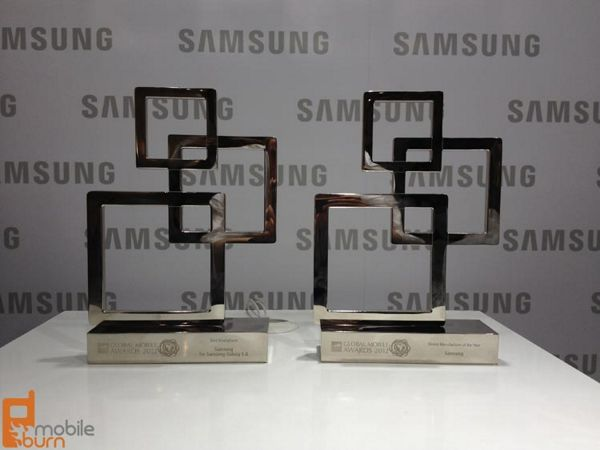 samsung - nagrody MWC 2012