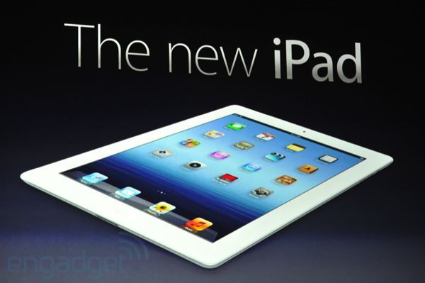 Apple - nowy iPad