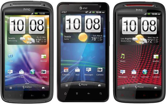 HTC Sensation - Vivid - Xe