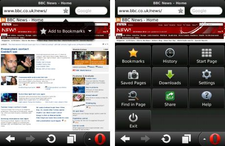 RIM BlackBerry - Opera Mini