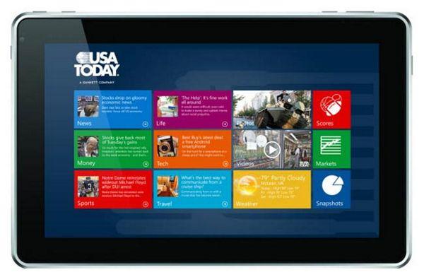 windows 8 - tablet app