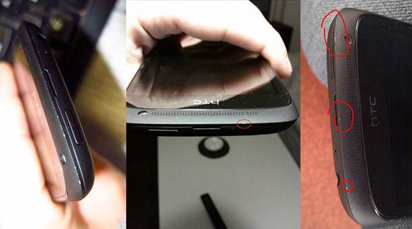 HTC One S - powłoka schodzi