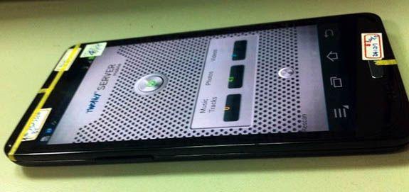 Samsung Galaxy S III - prototyp