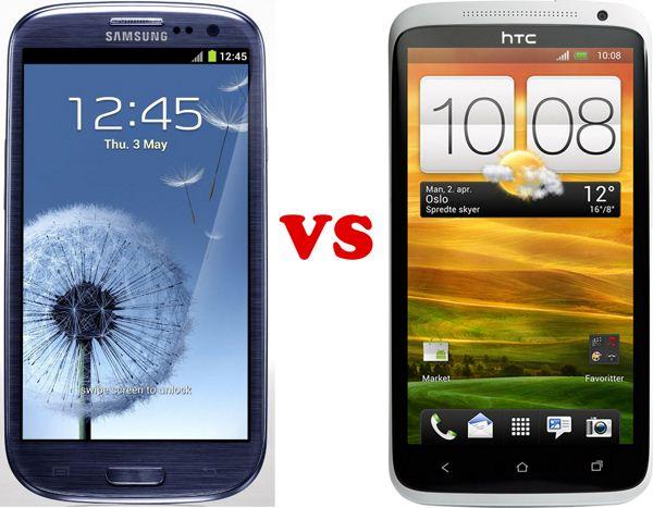 Samsung Galaxy S III vs HTC One X - pojedynek