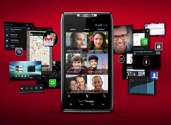Motorola RAZR - Android ICS
