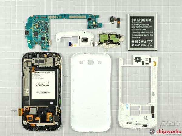 Samsung Galaxy S III - części