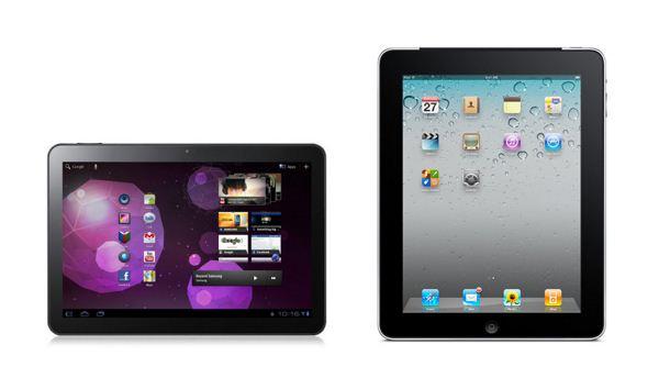 Apple iPad i Samsung Galaxy tab