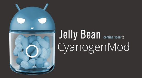 CyanogenMod 10 - Android 4.1 Jelly Bean