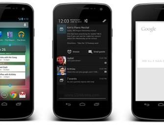 Android 4.1 Jelly Bean dla Galaxy Nexus już oficjalnie