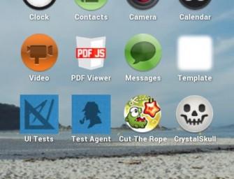 Firefox OS – pierwsze zrzuty ekranu