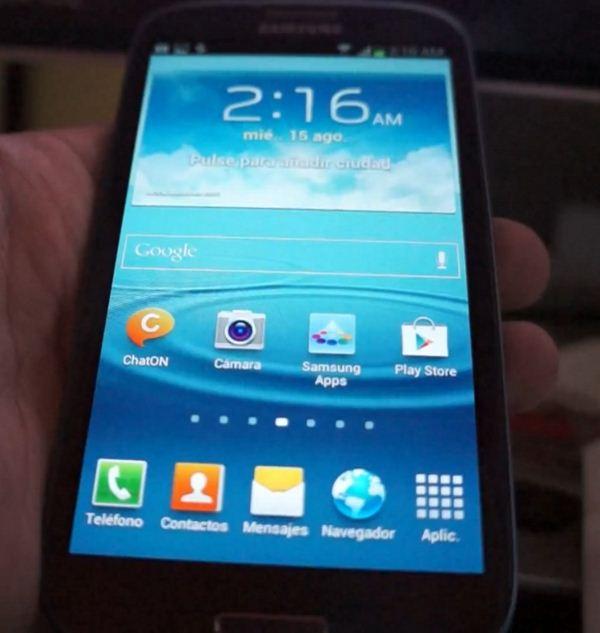 Samsung Galaxy S III - Jelly Bean
