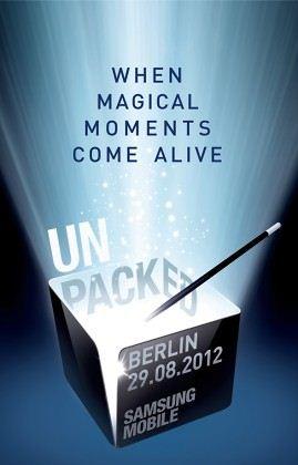 Samsung Unpacked - 29.08.2012