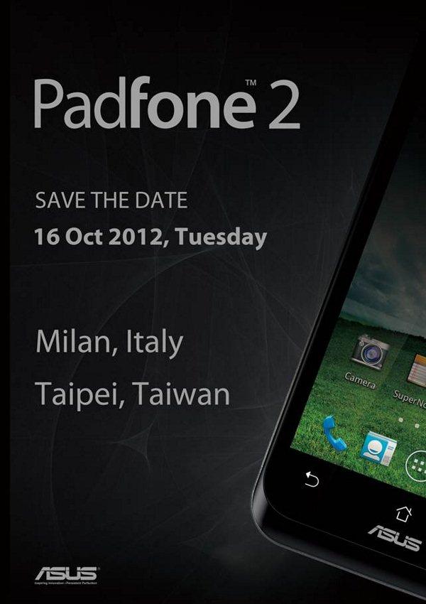 ASUS Padfone 2 - zaproszenie