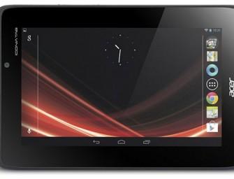 Acer Iconia Tab A110 – konkurencja dla Nexus 7?