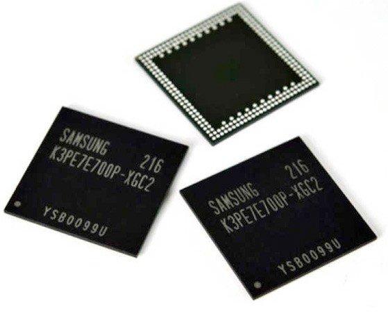 samsung - chipy pamięci