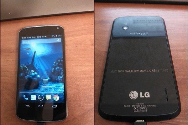 LG Nexus 4 - leak