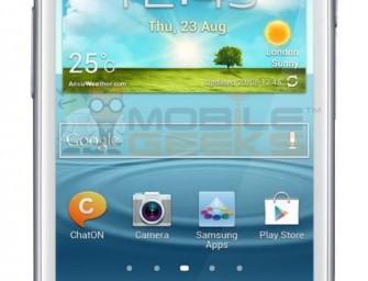 Samsung Galaxy S III Mini – pełna specyfikacja, cena i data wejścia na rynek