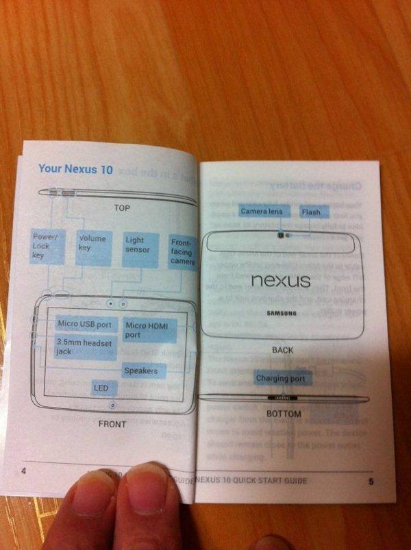 Samsung Nexus 10 - instrukcja