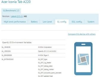 Acer Iconia Tab A220 – tablet z Android 4.1 i czterordzeniową Tegrą 3