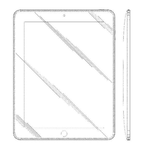 Apple - patent na prostokąt