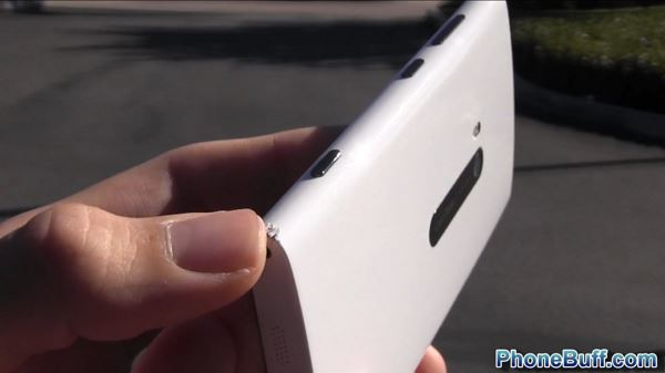 Nokia Lumia 920 - upadek