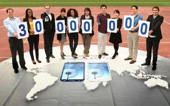 Samsung Galaxy S III - 30 milionów sprzedanych