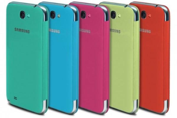 Samsung Galaxy S III i Note II - flip cover