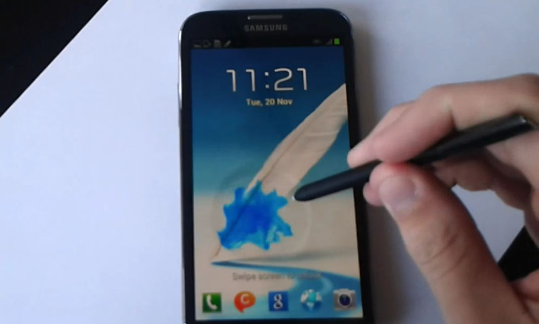 Samsung Galaxy Note II - Android 4.1.2
