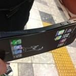 Apple iPhone 5 - wygięta obudowa
