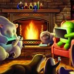 Google dla Android – Świąteczna tapeta – kominek
