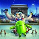 Google dla Android – Świąteczna tapeta – łyżwy