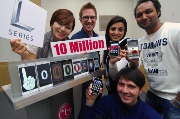 LG - 10 milionów sprzedanych smartfonów serii L