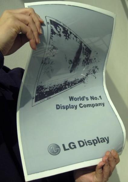 LG - elastyczny E-ink