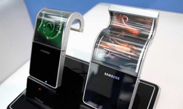 Giętkie ekrany Samsunga