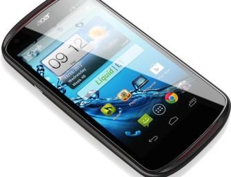 """Acer Liquid E1 – androidowy """"średniak"""" oficjalnie zaprezentowany"""