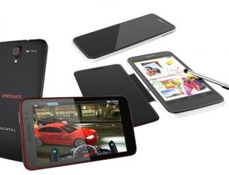 Alcatel One Touch Scribe: 5-calowe smartfony z rysikiem zaprezentowane