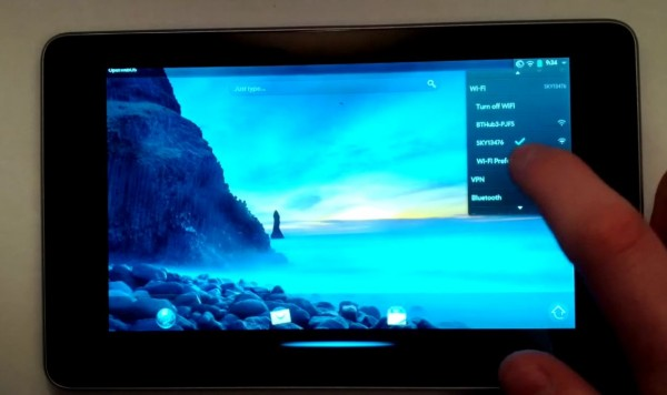 Asus Nexus 7 - webOS