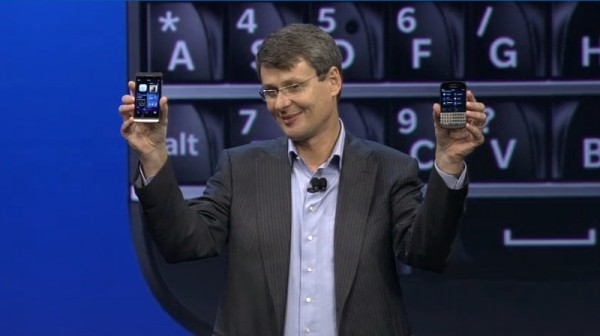 BlackBerry Q10 i Z10 w rękach CEO BB