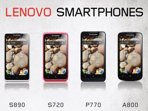 Lenovo - smartfony z Android na CES 2013