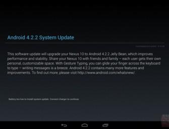 Google udostępniło aktualizację do Android 4.2.2