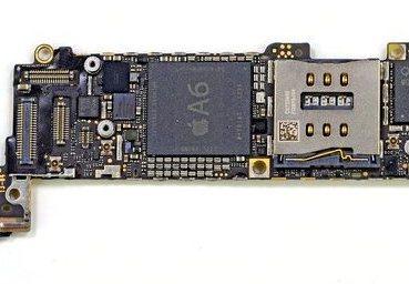 Apple A6 - płyta główna