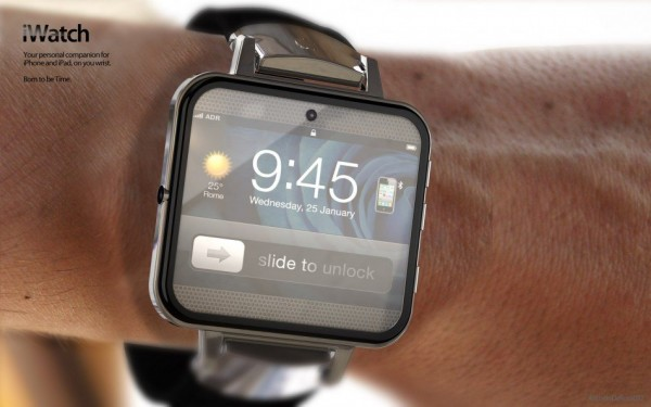 Apple iWatch - koncept