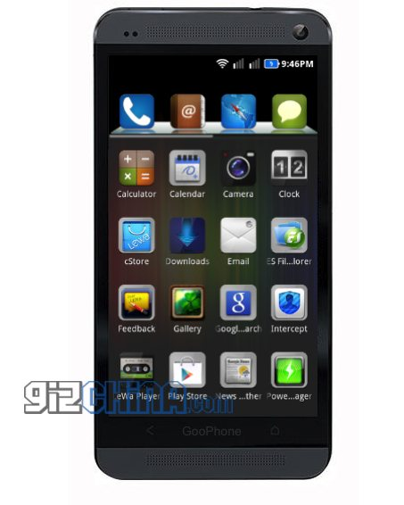 GooPhone One - czarny